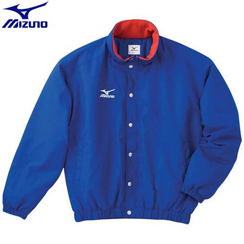陸上競技 ウエア ミズノ MIZUNO 中綿ウォーマーキルトシャツ(フード収納式)(22)ブルー A60JF96222 ウォームアップ