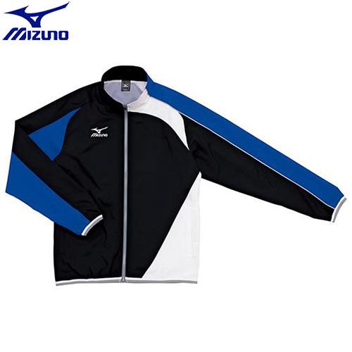 スイムウエア ミズノ MIZUNO トレーニングクロス(シャツ)(92)ブラック×ブルー N2JC501092 水泳用品