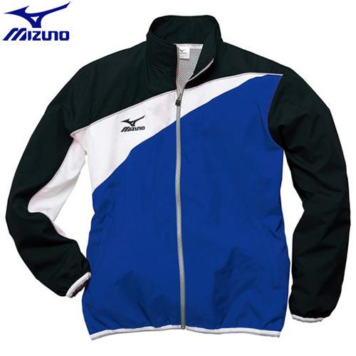 スイムウエア ミズノ MIZUNO トレーニングクロスシャツ[ジュニア](29)ブルー×ブラック N2JC742029 水泳用品