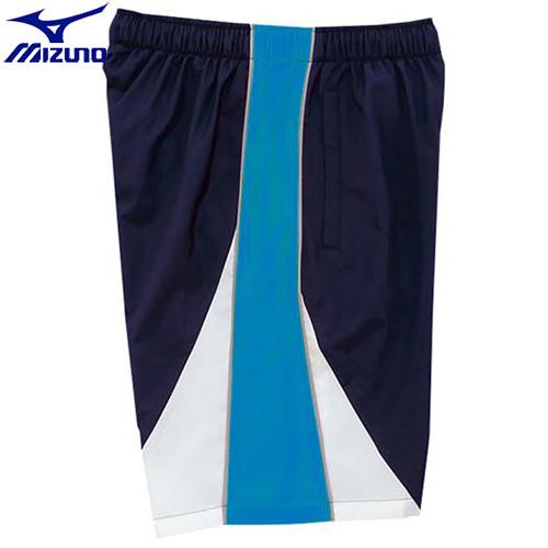スイムウエア 特売 水泳用品 ミズノ 現品 MIZUNO N2JD742182 ジュニア ネイビー×サックス 82 トレーニングクロスハーフパンツ