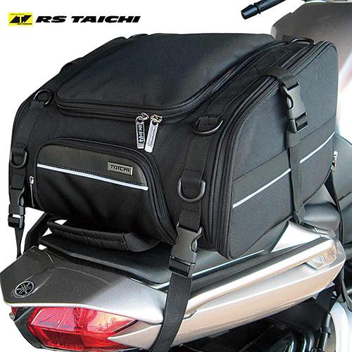 【送料無料】RS TAICHI アールエスタイチ RSB304 ラージ シートバッグ 30L LARGE SEAT BAG ツーリングバッグ メンズ BLACK 車体用バッグ BAG かばん カバン オートバイ バイク ライダー bike