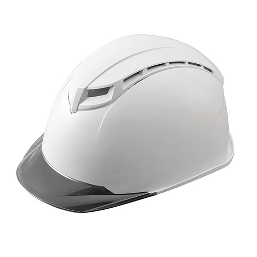 工事ヘルメット加賀産業KGS-STK通気孔ありカードホルダありシールドヘルメット通気口付き(通気孔)