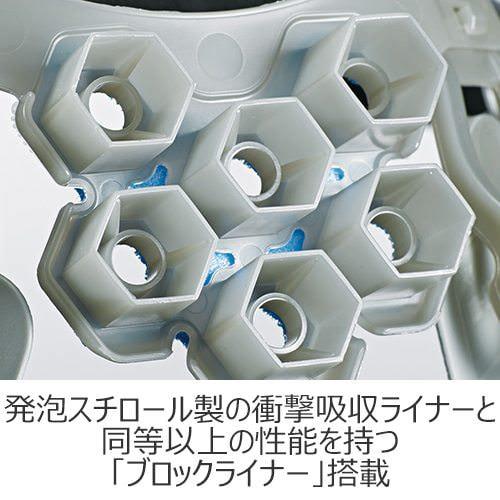 工事ヘルメット谷沢製作所タニザワST#141-JZVクリアバイザー透明ひさし