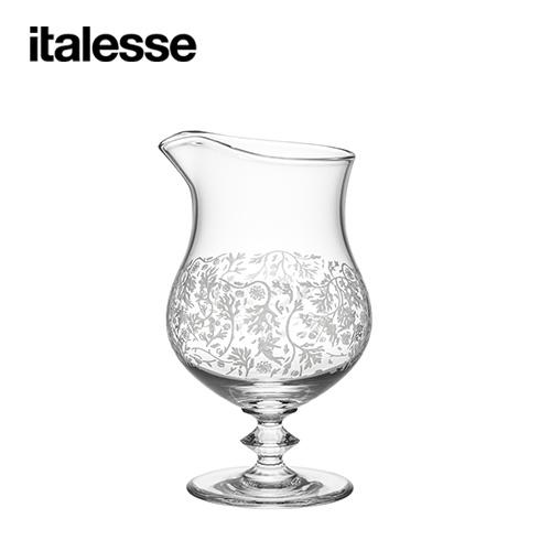 イタレッセ italesse ガローネ ワームウッド デコ ×6脚セット 14672 シャンパングラス ソーサー型