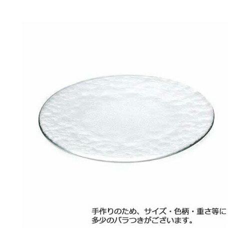 石塚硝子 アデリア Plate Flat FLAT 350 CL(3セット)品番:F-77519 【皿・ボウル】 皿 セット プレート 皿 食器 洋食器 ガラス食器
