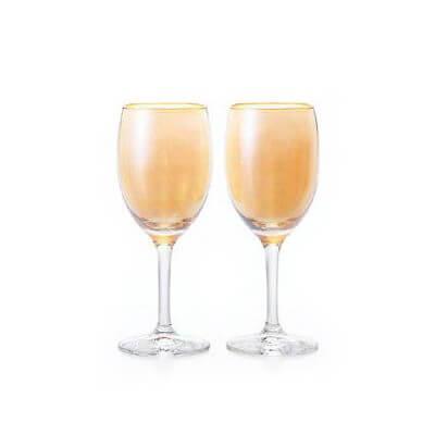 石塚硝子 アデリア カラーステム カラーワインペアセット(OR 36セット)品番:S-6086 【ワイングラス】 ワイングラス セット 食器 洋食器 ガラス食器 アデリア