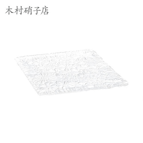 木村硝子店 Bouquet ブケ FLSQ-27cmプレート×6セット プレート kimuraglass 食器・テーブルウェア