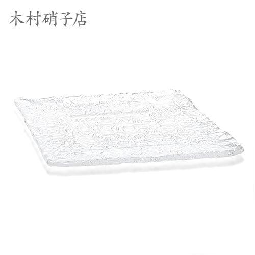 木村硝子 Bouquet ブケ SQ-30cmプレート×6セット プレート kimuraglass 食器・テーブルウェア