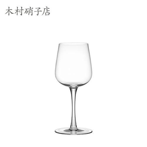 インゲヤード・ローマンによる全11種のデザインシリーズ 木村硝子 WINE AND WATERGLASS WINE ×6脚セット 15368 ワイングラス