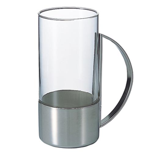 ハリオ ホットグラス サークル 230cc [4041] HARIO ホットグラス(ホルダー付きグラス)