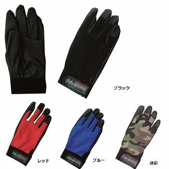 【合成皮革手袋】PU-WAVE 合成皮革手袋 [120双入] 品番:K-18 (M・L・LLサイズ) おたふく手袋 (作業用手袋) 甲メリヤス 通気性 ムレ軽減 合成皮革 やわらかフィット感抜群 革独特のにおいがない 滑り止め グリップ力 細かい