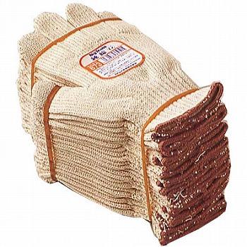 【純綿軍手】ビッグテキサス純綿軍手12双入×10セット[総数120双] 品番:673 おたふく手袋 (作業用手袋) 7ゲージ(厚手) 純綿軍手 綿100% 丈夫 熱に強い 燃えにくい 吸汗性 キャンプ ハイキング バーベキュー 火元作業 火を扱