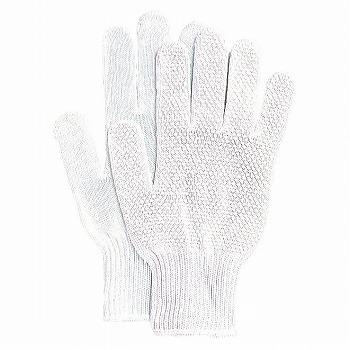 【滑り止め軍手】奉仕品ドライブスベリ止手袋 5双入×80セット[総数400双] 品番:225 おたふく手袋 (作業用手袋) 10ゲージ(薄手) 純綿軍手 すべり止め 丈夫 吸汗性 ハイキング 肌にやさしい