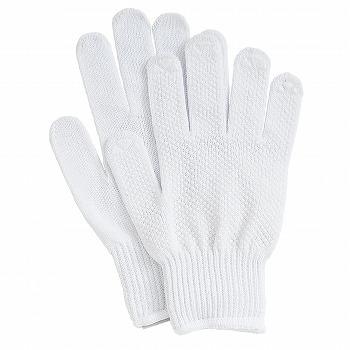 【滑り止め軍手】軽作業スベリ止手袋 5双入×80セット[総数400双] 品番:G-156 (S・M・Lサイズ) おたふく手袋 (作業用手袋) 10ゲージ(薄手) 純綿軍手 すべり止め 丈夫 吸汗性 ハイキング 肌にやさしい