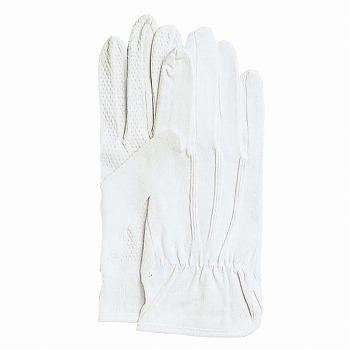 【スムス手袋】カーグローブNo.2000 スベリ止付綿手袋[480双入] 品番:2000 おたふく手袋 (作業用手袋) 縫製手袋 滑り止め 綿マチ付き 綿100% 吸汗性 ムレにくい 肌に優しい 品質管理 ドライバー 警備 選別作業 精密 梱包 運転 インナー手袋
