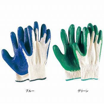 【ゴム張り手袋】ゴム引手袋 5双入×40セット[総数200双] 品番:340 おたふく手袋 (作業用手袋) 背抜き 薄手 10ゲージ グリップ力 やわらかい フィットしやすい 低温でも硬くなりにくい耐久性 綿 天然ゴム