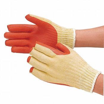 【ゴム張り手袋】強力ゴムバリ手袋[120双入] 品番:300 おたふく手袋 (作業用手袋) 背抜き 厚手 7ゲージ グリップ力 やわらかい フィットしやすい 低温でも硬くなりにくいグリップ力 天然ゴム