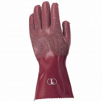 天然ゴム手袋おたふく手袋ゴム作業手袋3双入×5セット[総数15双]308ゴム手袋裏布あり