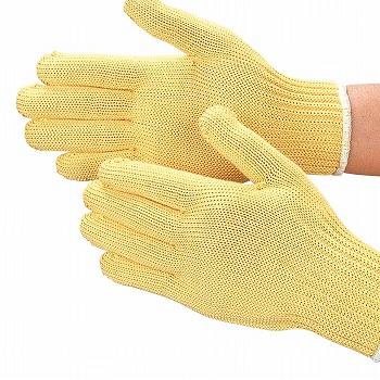 【耐切創手袋】 スーパーアラミド手袋 L 耐切創[10双入] 品番:805 (Lサイズ) おたふく手袋 (作業用手袋) 特殊用途作業 耐切創 アラミド繊維100%