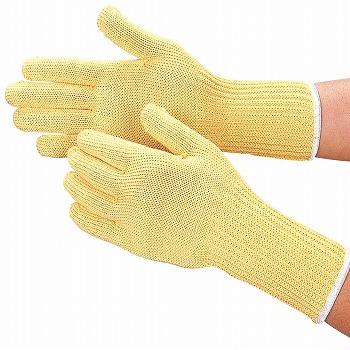 耐切創[100双入] 耐切創 (作業用手袋) アラミド繊維100% 特殊用途作業 切れにくい おたふく手袋 品番:807 【耐切創手袋】 スーパーアラミド手首長