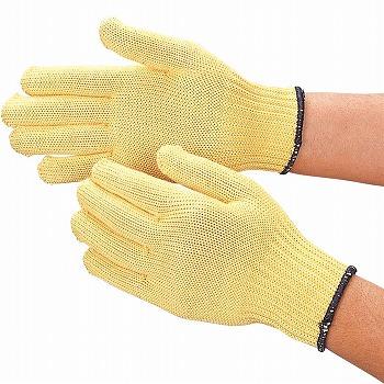 【耐切創手袋】 スーパーアラミド内綿手袋 耐切創[10双入] 品番:813 おたふく手袋 (作業用手袋) 特殊用途作業 耐切創 アラミド繊維 綿