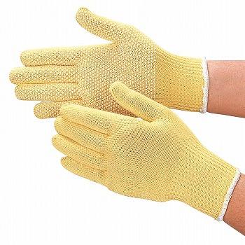 耐切創手袋おたふく手袋スーパーアラミド薄手袋(スベリ止付)[100双入]811