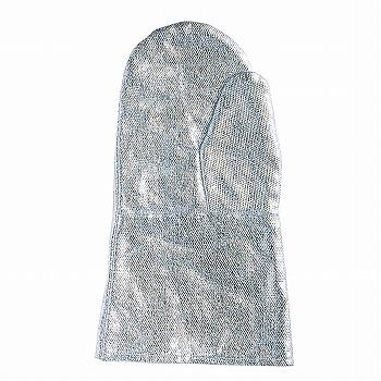 【耐熱手袋】A 耐熱アルミ手袋 2本指29cm [1双入] おたふく手袋 (作業用手袋) 特殊用途作業 耐熱 耐火 カイノール繊維(フェノール樹脂) アルミ蒸着