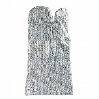 おたふく手袋耐熱アルミ手袋3本指35cm[1双入]C