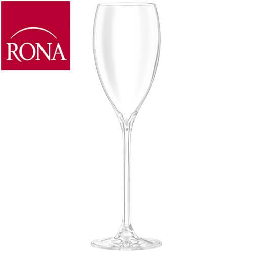 ジュリア 8oz 在庫あり シャンパーニュ ×6脚セット シャンパングラス 送料無料限定セール中 フルート型 Champagne glass 家庭用 シャンパーニュ×6脚セット 業務用 RONA グラス 洋食器 ガラス ロナ