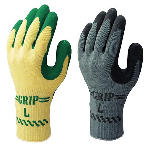 背抜き手袋SHOWAショーワグローブグリップ(ソフトタイプ)3P3双入×5セット[総数15双]No.313天然ゴム