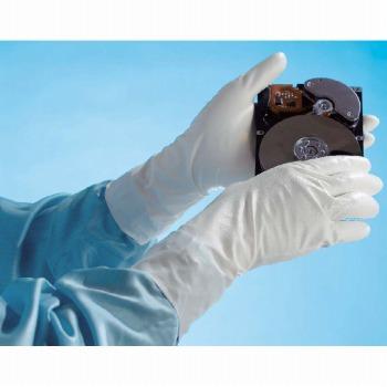 低発塵・クリーンルーム用手袋SHOWAショーワグローブナノテクリーンAC10双パック耐久防汚低発塵手袋E0100