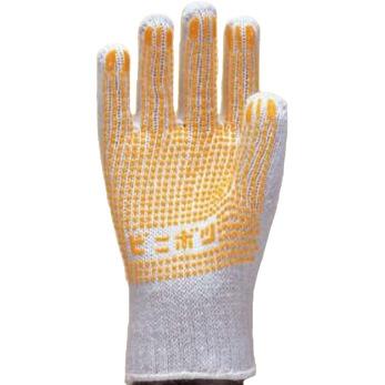 滑り止め軍手(ビニボツ)勝星産業ビニボツ[12双入]#310化学繊維厚手
