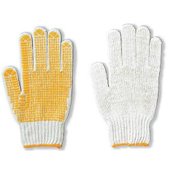滑り止め軍手(ビニボツ)アトムATOMすべり止め手袋[5双入り]4990化学繊維厚手