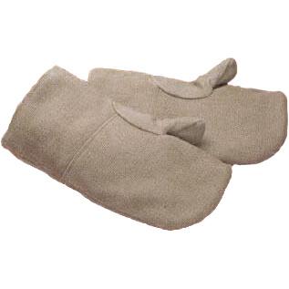【耐熱ミトン】耐熱ミトン ゼテックスプラスミットン 58cm [1双入] 品番:2100039 ゼテックス (作業用手袋) ビニール手袋 特殊作業 耐熱 耐火 シリカ繊維