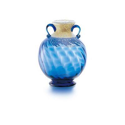津軽びいどろ 花器 藍花器大(1個)品番:F-79805 【花器】 花瓶 ガラス ガラス 花器 ガラスベース フラワーベース 花びん インテリア フラワー 雑貨 花 ディスプレイ 置物 津軽びいどろ北洋硝子