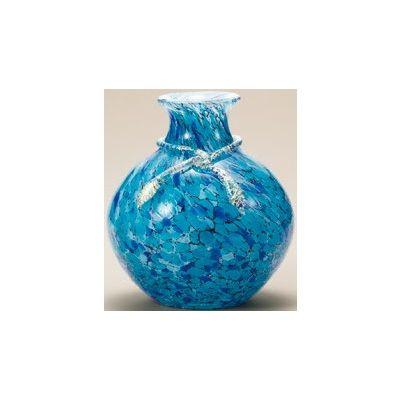 津軽びいどろ工房(紫陽花) 花器(1個)品番:F-77636 【花器】 花瓶 ガラス ガラス 花器 ガラスベース フラワーベース 花びん インテリア フラワー 雑貨 花 ディスプレイ 置物 津軽びいどろ北洋硝子