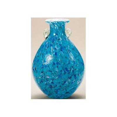 津軽びいどろ工房(紫陽花) 花器(1個)品番:F-77637 【花器】 花瓶 ガラス ガラス 花器 ガラスベース フラワーベース 花びん インテリア フラワー 雑貨 花 ディスプレイ 置物 津軽びいどろ北洋硝子