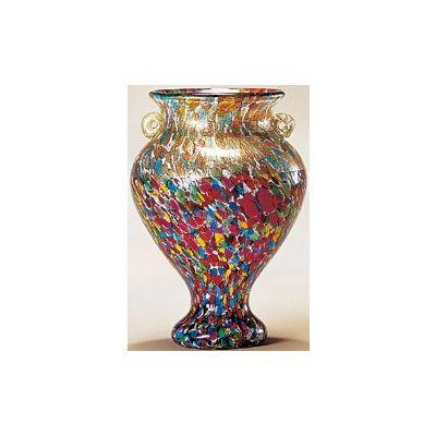 津軽びいどろ工房(ねぶたまつり) 花器(中 1個)品番:F-79653 【花器】 花瓶 ガラス ガラス 花器 ガラスベース フラワーベース 花びん インテリア フラワー 雑貨 花 ディスプレイ 置物 津軽びいどろ北洋硝子