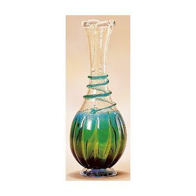津軽びいどろ工房(春の芽) 花器(1個)品番:F-79623 【花器】 花瓶 ガラス ガラス 花器 ガラスベース フラワーベース 花びん インテリア フラワー 雑貨 花 ディスプレイ 置物 津軽びいどろ北洋硝子