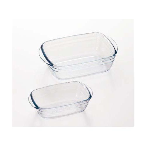 アルキュイジーヌ レクタングルディッシュMSペアセット(12セット)品番:HS-612 【皿・ボウル】 耐熱ガラス オーブン料理 レクタングル 耐熱容器 ボウル 皿 レンジ 調理器具 キッチン用品arcuisine
