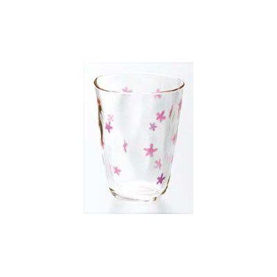 石塚硝子 アデリア ののはな タンブラー(PN 3セット)品番:7549  タンブラー グラス セット 食器 洋食器 ガラス食器 アデリア
