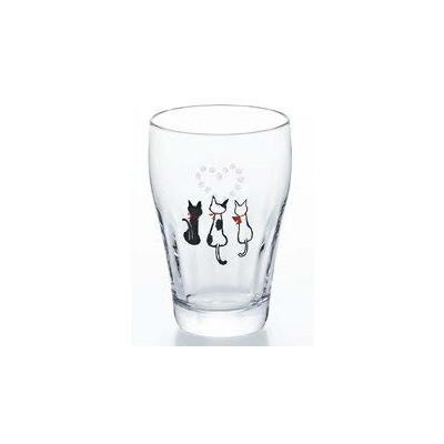 石塚硝子 アデリア 足あとグラス 足あとハートタンブラー(3セット)品番:6471  タンブラー グラス セット 食器 洋食器 ガラス食器 アデリア