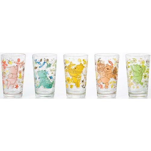 Disney ディズニー WINNIE THE POOH Pooh グラスセット(12セット)品番:S-5780 【ソフトドリンクほか】 ディズニー グラス セット グラス コップ タンブラー ジュース ソフトドリンク くまのプーさん 食器 洋食器 ガラス食器