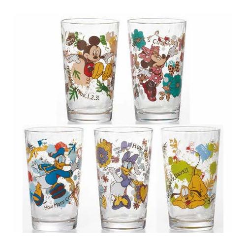 Disney ディズニー STANDARD アウトドア グラスセット(12セット)品番:S-5869 【ソフトドリンクほか】 ディズニー グラス セット 食器 洋食器 ガラス食器