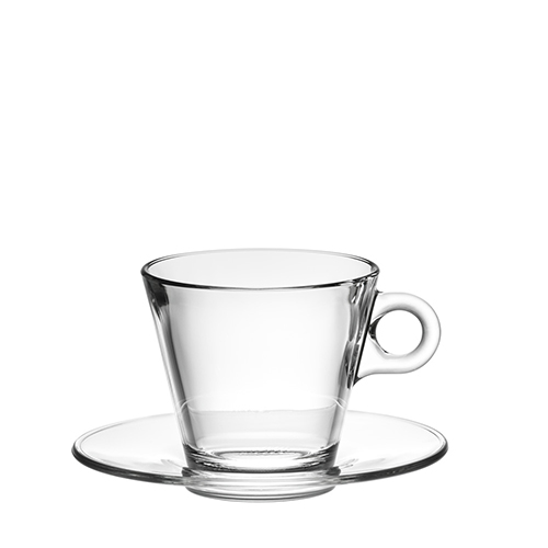 ボルゴノーヴォ コニック カプチーノカップ 280×6脚セット グラス Borgonovo グラス