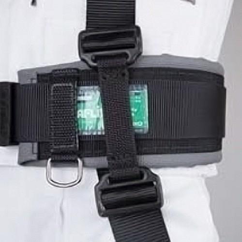 藤井電工ツヨロンUT-45YHAY型ハーネス用胴ベルト取付アダプター長時間作業痛み緩和