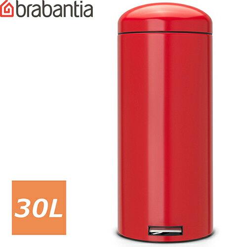 ブラバンシア レトロビン モーションコントロール 30L パッションレッド (Passion Red レッド 赤) 483820 ゴミ箱 30リットル 赤 ダストボックス ごみ箱 ごみばこ トラッシュボックス BOX ふた付き おしゃれ かっこいい 蓋つき