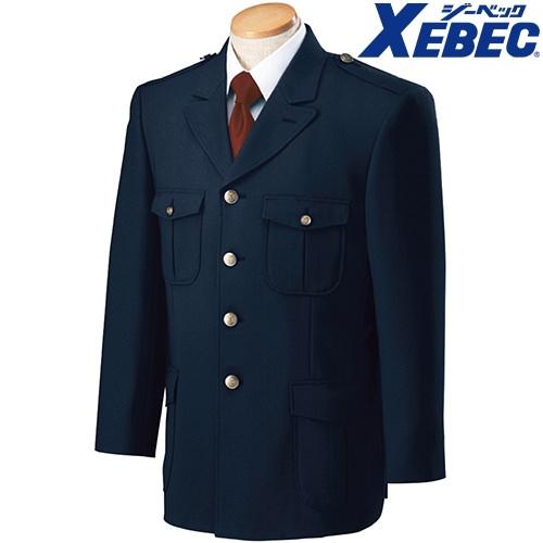 ジーベック XEBEC 18105 警備服 4ツ釦ジャケット メンズ 男性用 作業服 作業着 上着 警備用品 保安用品 セキュリティ 定番