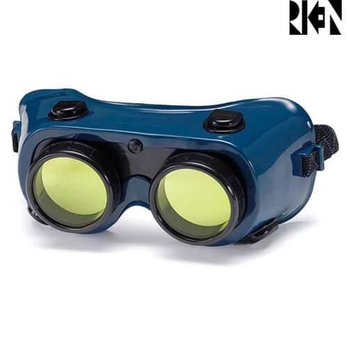 レーザー保護メガネ 理研オプテック R-500 EX Vレンズ レーザー保護レンズ