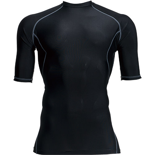 バートル夏用インナー半袖シャツ4026ショートスリーブコンプレッションBURTLE暑さ対策